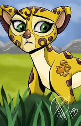 The Lion Guard - Fuli by AlexaWayne