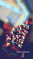 Christmas Tree Lights by dream93