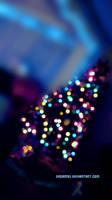 Christmas Tree Lights 1 by dream93