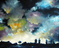 Summer sky by Bleuminuit