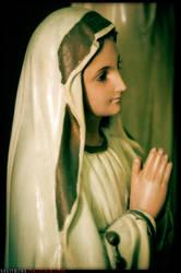 Virgin Mary by kesdee