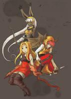 Final Fantasy Archers by AudGreen