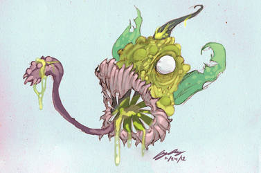 Scary Weepinbell by AudGreen