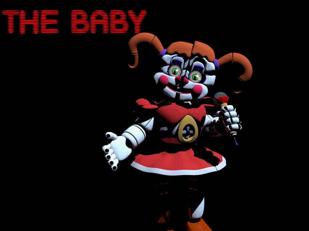 Fnaf Sl Baby Wallpaper By Dav Oo On Deviantart