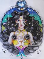 princess Kaguya by misslepard