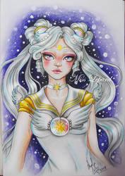Sailor Cosmos by misslepard