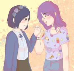 Amy and Alma! by xXArtIsTheWeaponXx