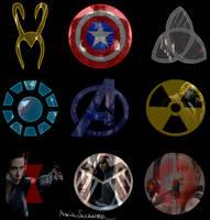 The Avengers by asgardiangoddess