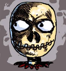 Skullhead by Dalurker