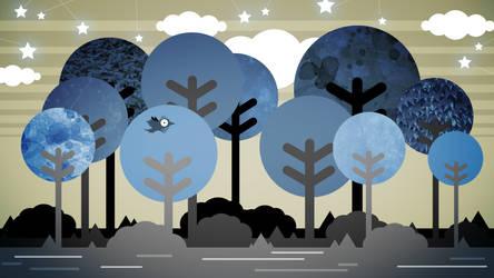 Blue Forest by ZeTrystan
