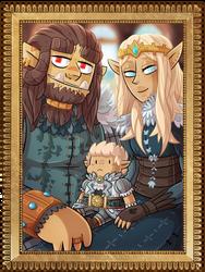 Fantasy Family by ZeTrystan