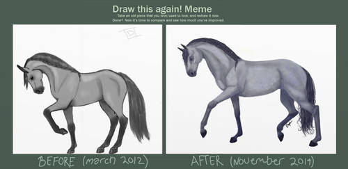Draw this again - 2012/2014 by Oxters