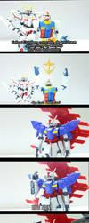 Moon Gundam by KaizerLagann1987