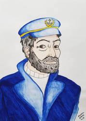 Capitano, lupo di mare by AnnalisaGaleone