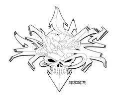 Graffiti Death Dome v2 by SikWidInk