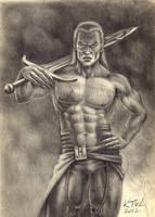 Swordsmaster by KainTheVampireLord