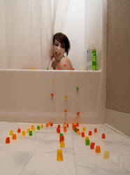 Gummi's Attack by MissJamieBrown