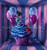 Blueberry Cupcake by MissJamieBrown
