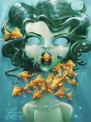 FishFace by MissJamieBrown