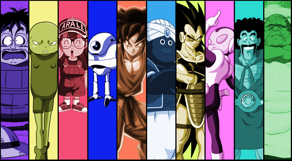 The ultimate universe 7 team by craMerupt