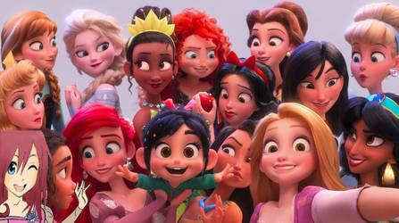 Disney Princess Selfie by jacobyel