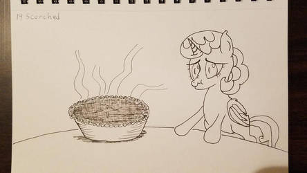 Inktober Day 19 Scorched by TasticDragon