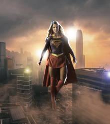 Supergirl by dlscott1111