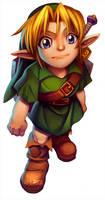 Young Link by jamespuga