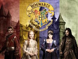 Hogwarts Founders by mellie-lyn