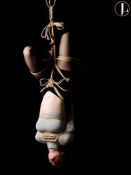 Inverted suspension with arm binder and legs tied by JakeLackless