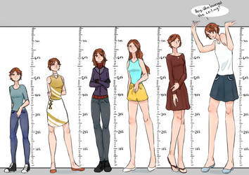 Lacey Over The Years by a0040pc
