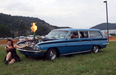 Flamethrower Series Olds Wagon by SwiftysGarage