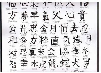 Kanji -finished- by fanchielover15
