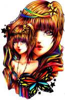 OC: Sapphire Star by rianbowart
