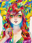 Poison Ivy by rianbowart