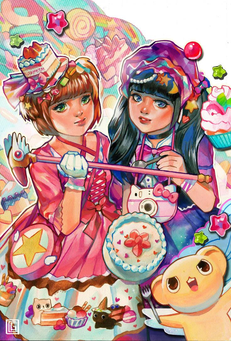 Candy Girl Lolita: Cardcaptor Sakura by rianbowart
