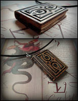 GRIMOIRE PENDANT by MassoGeppetto