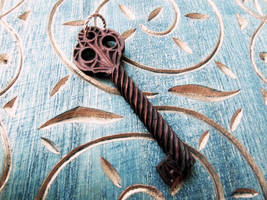 MEDIEVAL KEY PENDANT by MassoGeppetto