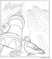 2-pt Vertical Perspective by LisaCrowBurke