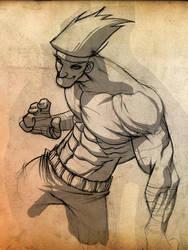 Adon sketch by pencil-ninja