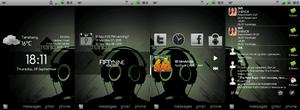HTC Hero: Dark Exhaust by KimboPrice