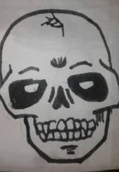 skull by mjuanm