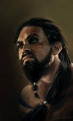 Khal Drogo by dalisacg