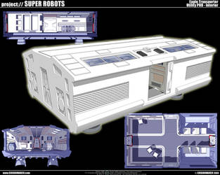 Space 1999: Eagle transporter by cosedimarco