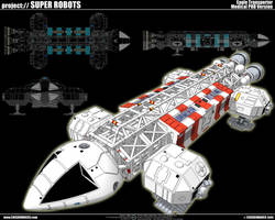 Space 1999 Eagle Transporter 1 by cosedimarco