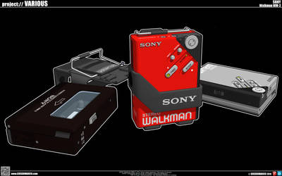 SONY Walkman WM-2 by cosedimarco