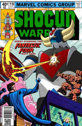 Shogun Warrior #019: Grendizer by cosedimarco