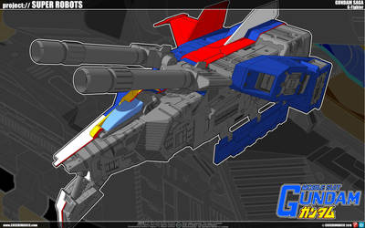 Gundam G-Fighter by cosedimarco