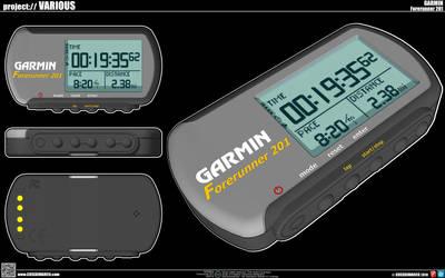 Garmin Forerunner 201 by cosedimarco