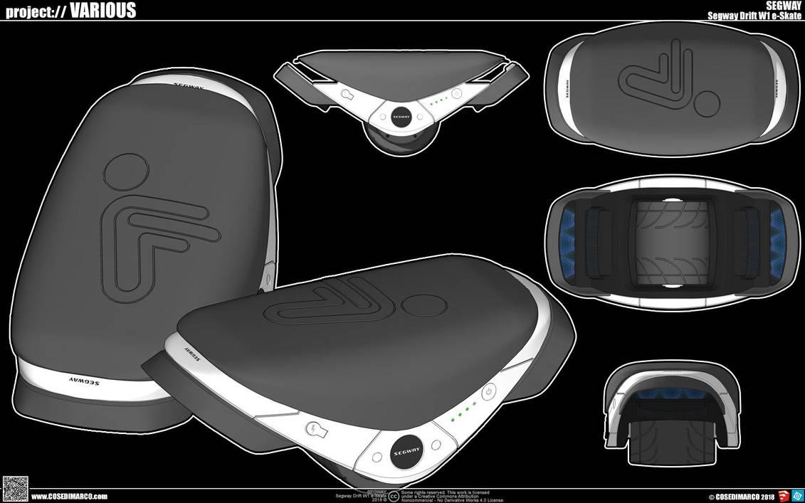 Segway Drift W1 e-Skates by cosedimarco